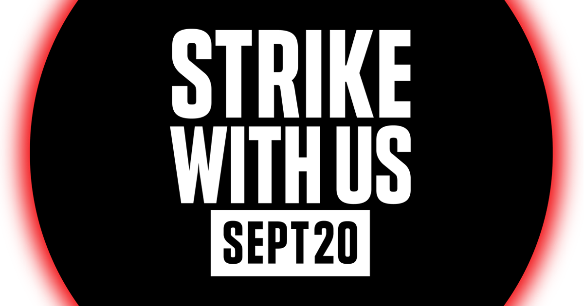 Strike With Us | Join The Youth Climate Strike
